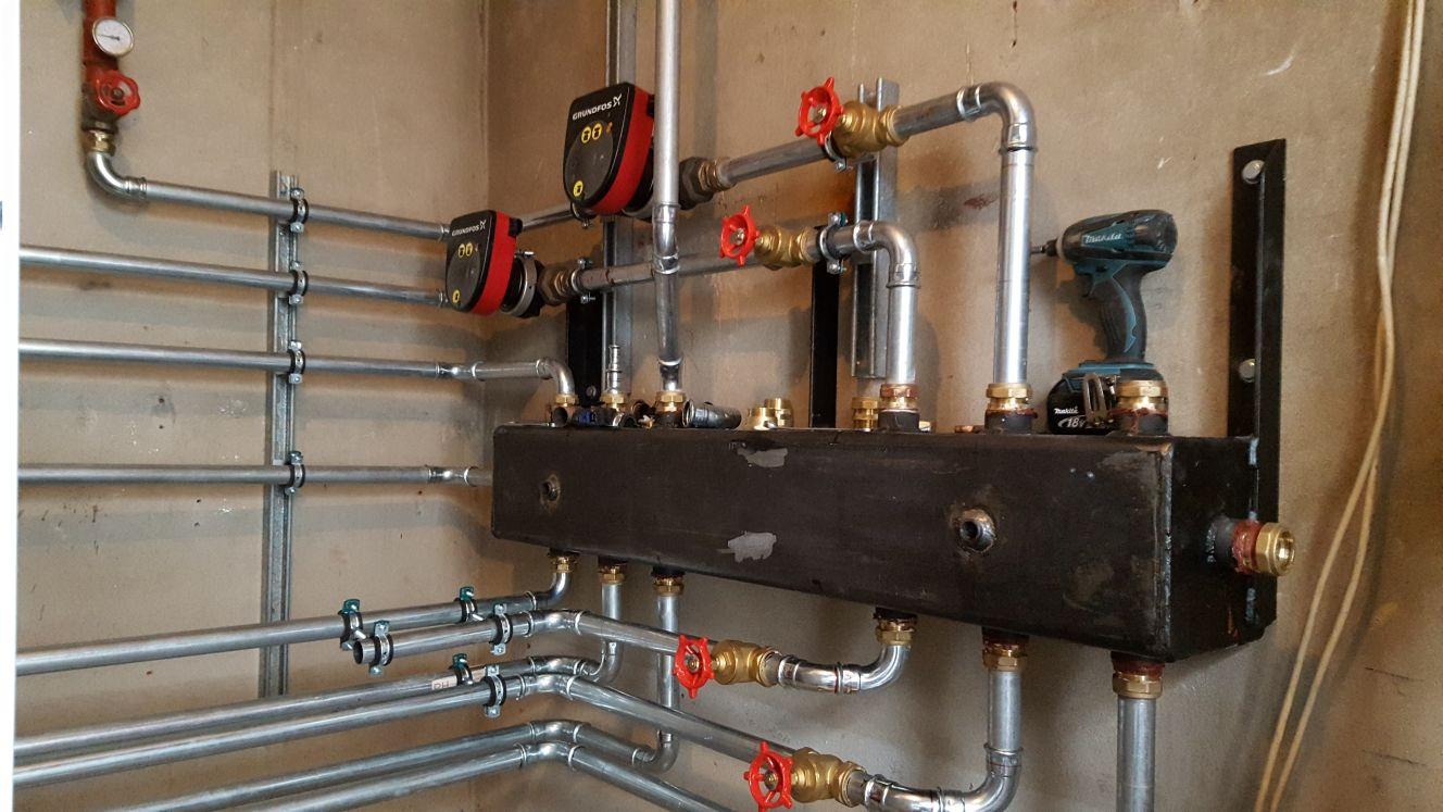 Ground Source Heat Pumps Heatshine Piping Schematic Pump From The