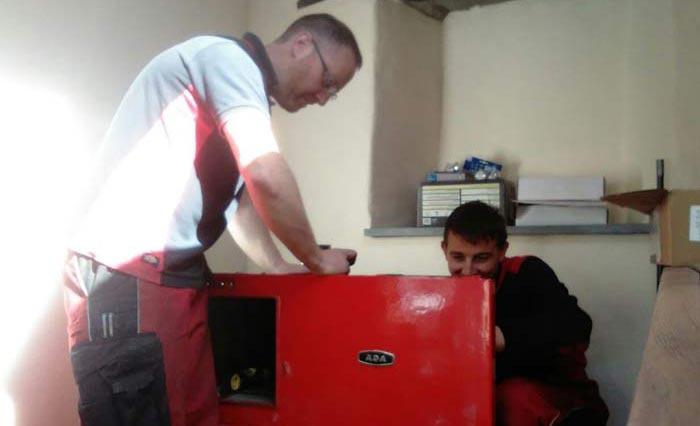 Repairing an Aga